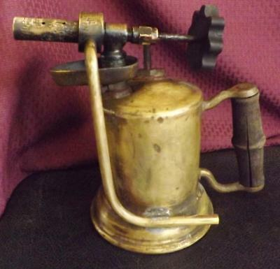 Vintage Customized Brass Blow Torch