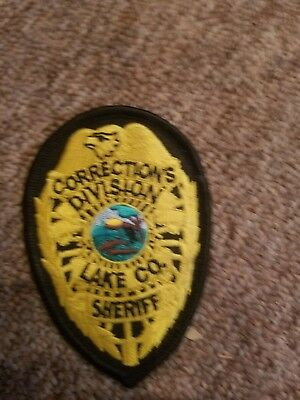 Lake County Indiana Sheriff Corrections Division hat Patch