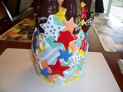 Coca Cola Ceramic Cookie Jar