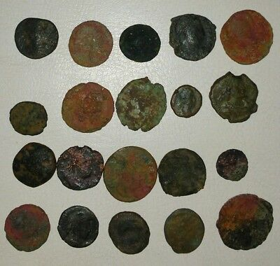 Lot of 20 Unidentified Ancient Roman Coins