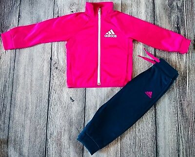 3ccda2d6 ADIDAS BABY GIRLS Tracksuit Size 3-6 Months - £8.49 | PicClick UK