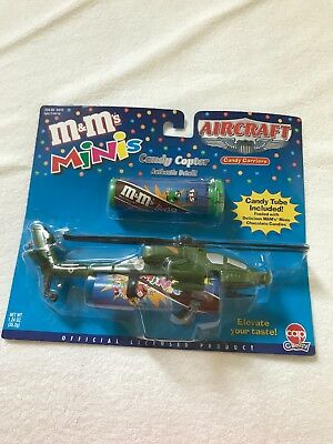 M & M'S MINIS CANDY COPTER Helicopter M&M Collector Item