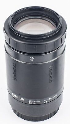 Tamron AF Zoom 100-300mm f5-6.36 With Canon EF Mount