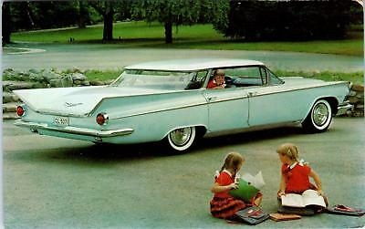 OTTUMWA, IA Iowa   Car Advertising  Miers Buick  1959 BUICK  INVICTA  Postcard