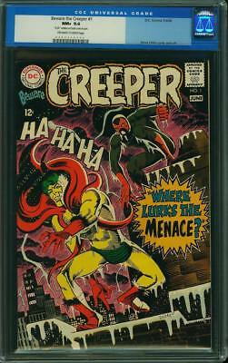 Beware the Creeper #1 CGC 9.6 DC 1968 Rare Book in High Grade! H5 423 cm clean