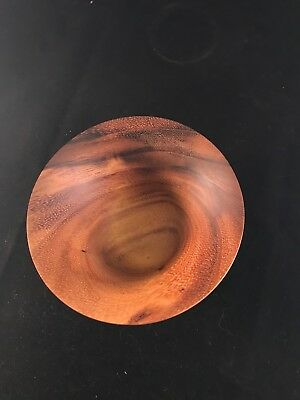Handmade and crafted one of a kind Monkey Pod wood bowl