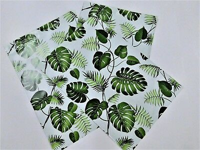 25 Banana Leaves 10x13 Designer Poly Mailers Shipping Envelope Fall Bags
