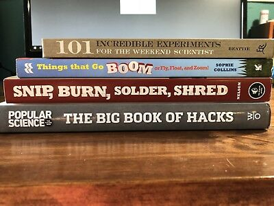 Maker's Book Bundle (4 Books for the weekend Maker!)
