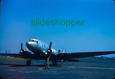 Slide Photo LOT Aircraft Piper J-3 Cub L-4 Grasshopper DC-3 C-47 Skytrain 1951