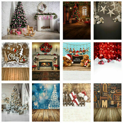 Christmas Studio Backdrop Photography Photo Background 3x5FT/5x7FT Xmas Gift UK