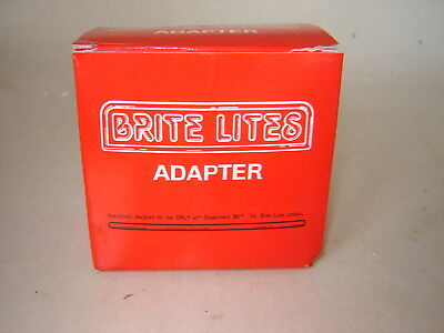Dept 56 Light Accessory - Brite Lights AC / DC Adapter #56.52256 - White