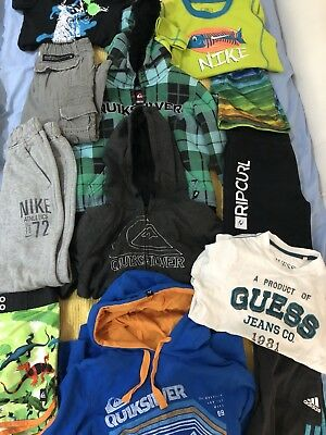 Boys clothes size 4  Some New, Nike adidas guess puma rip curl quicksilver