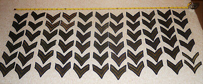 US Military Vintage Lot of Rank Sergeant Patches 1 set Cpl. Military Patches