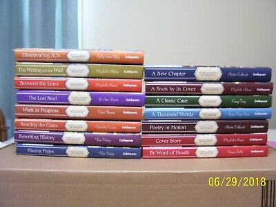 (Ad 95) 15 Books Lot Secrets Of Mary's Bookshop Guideposts Hardcover Mystery