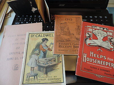 Lot of 1900's Payne & Denneny Druggists Fayette Missouri Advertising Items more
