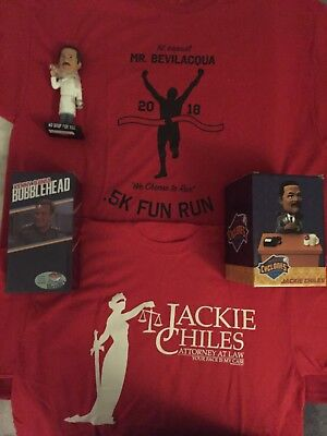 Seinfeld Brooklyn Cyclones Bobblehead Lot -Soup Nazi Jackie Chiles & Kenny Bania