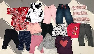 baby girls 6-12 months lot of clothes - babyGap, Carters, Old Navy