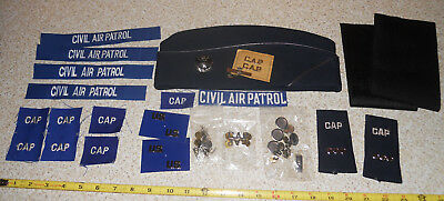 Lot of Civil Air Patrol Pins Hat & Other Insignia