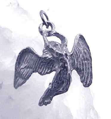 COOL Greek Mythology Icarus Sterling silver charm Jewelry