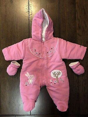Baby Girl Snowsuit Size 000