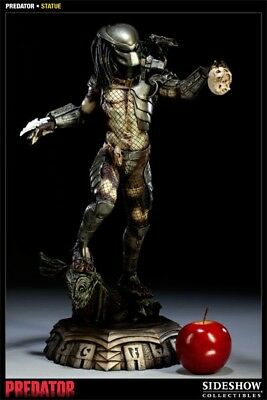 Sideshow Collectibles Classic Predator Statue Undisplayed HARD TO FIND