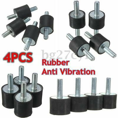 4X M3 M4 M6 M8 Shock Absorber Anti Vibration Rubber Mounts Male Boat Car Bobbin