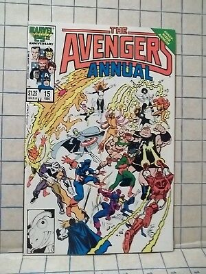 Avengers Giant-Sized Annual #15 1986 vs Freedom Force!