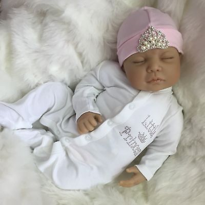 CHERISH DOLLS NEW REBORN BABY OLIVIA FAKE BABIES FLOPPY REALISTIC UK  f