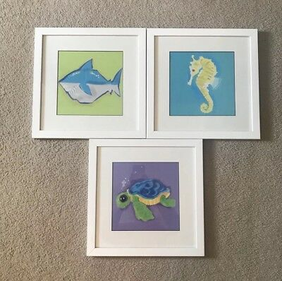 Nursery/Children's Nautical/Ocean Framed Artwork