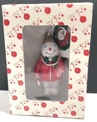 Mr Bingle 2008 Christmas Ornament Collectible New Orleans Snowman in Box