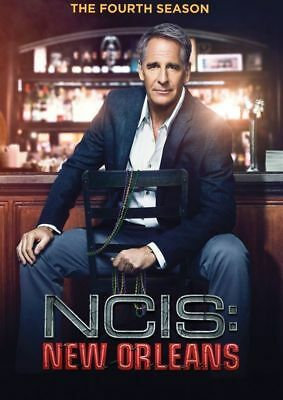 NCIS New Orleans Season 4 DVD Complete Fourth 4th Series Box Set Limited Stock