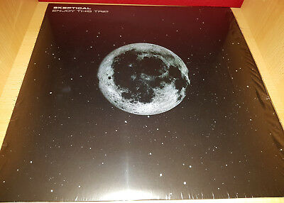 """Skeptical - Enjoy This Trip LP - Exit Records -  Limited 3x Clear Vinyl 12"""""""