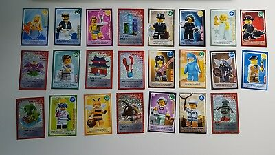 Lego Collector's Create the World Trading Cards x 23 (Range 053-094)
