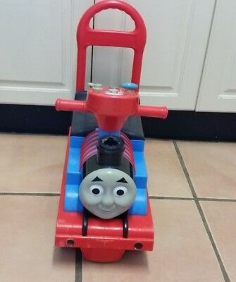 Thomas ride on toy and baby walker