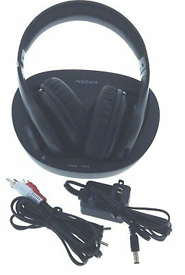 Insignia Over-the-Ear Wireless Headphones For TV & Audio Devices NS-WHP314