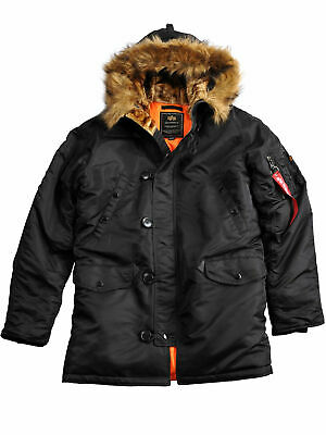 ALPHA INDUSTRIES N3B VF59 Herren Winter Jacke Parka Mantel