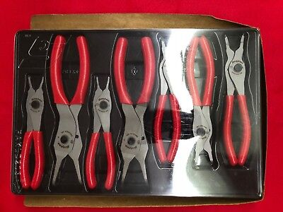 Snap-On Pliers Retaining Ring Set, 7 pc (SRPC107)  FREE SHIPPING!!!!!!!!!!!!!!