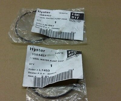HYSTER Forklift Seal Water Pump Cove 1584457 NEW 2 PCS