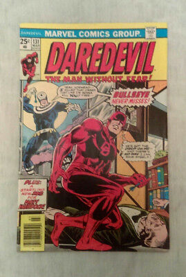 Daredevil #131, The Man Without Fear, Very Fine 8.5, Good candidate for C.G.C.