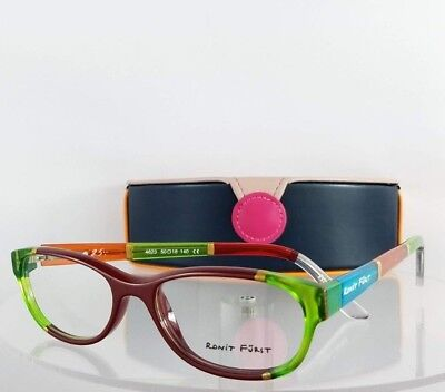 53a2c8265571 Brand New Authentic RONIT FURST RF 4623 Green Orange painted Eyeglasses  Frame