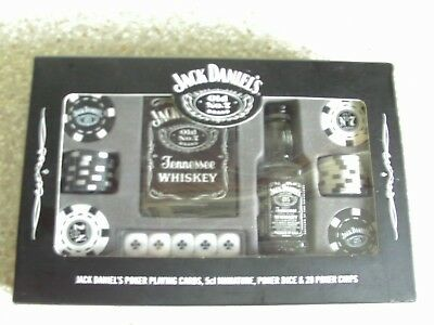 Jack Daniels 'old No.7 Tennessee Whiskey'  Poker Set