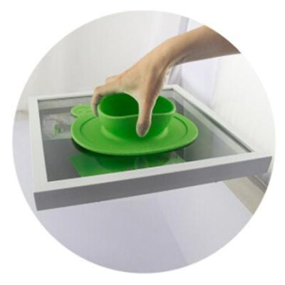 Lovely Bowl Silicone Mat Baby Child Suction Table Food Tray Placemat Plate H