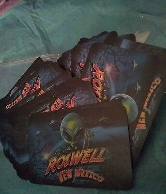 Alien -  Roswell New Mexico Cards