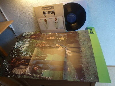 Nazareth Exercises 1972 Mint With Mega Poster 1St Press