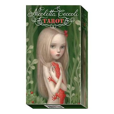 9788865273050 Nicoletta Ceccoli Tarot: 78 Full Colour Cards and Instructions - N