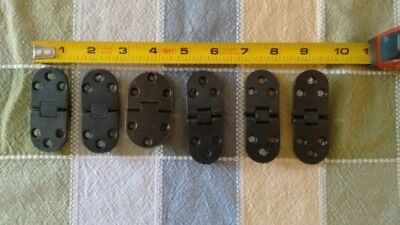 Furniture Hardware Brass Butler Tray Table Hinge's [6] assorted
