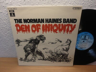 The Norman Haines Band Den Of Iniquity In Mint 1971 / 1St Press