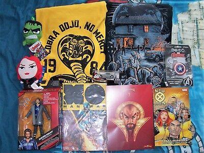 Z-BOX / LOOT CRATE / GEEK BOX - T-Shirts, Figures, Comics, Keyrings, Print