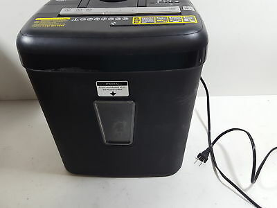Basics 12 Sheet Cross-Cut Paper-CD-Credit Card Shredder AU1205XB