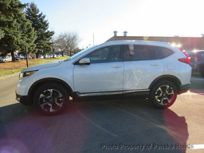 Honda CR-V Touring AWD Touring AWD New 4 dr SUV CVT Gasoline 1.5L 4 Cyl White Diamond Pearl